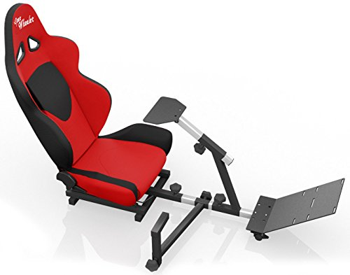 This Gaming Chair Provides Both Strength And Comfort For Great Racing Seat  Simulation. This Is A Perfect Piece Of Equipment For Any Racing And Video  Game ...