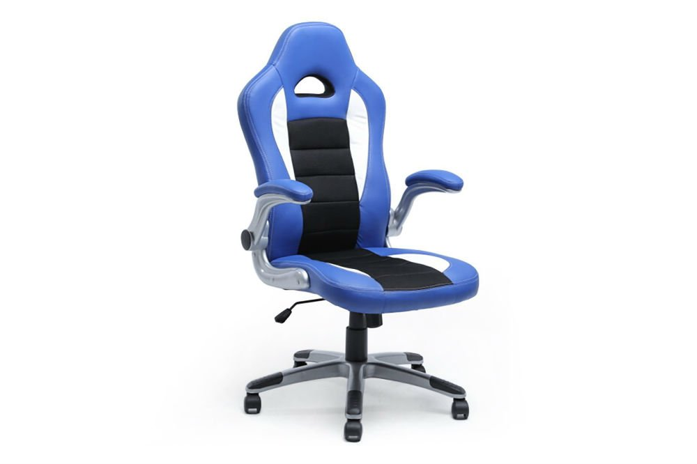 Belleze Gaming Office Chair Racing Bucket High Back Ergonomic Computer w/ Flip Armrest Review