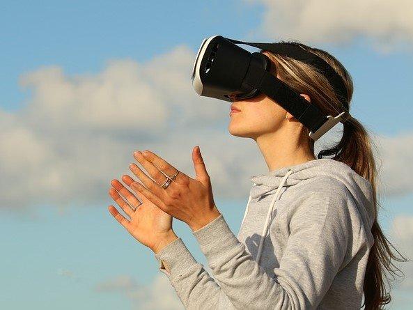 vr headset, virtual reality video games