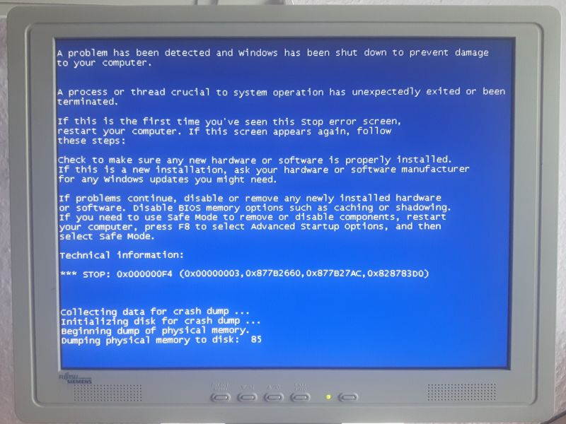 why does my computer get blue screen