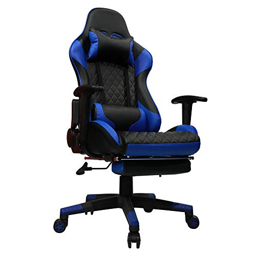 kinsal gaming chair high back with massage function gaming chairz. Black Bedroom Furniture Sets. Home Design Ideas